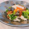 テレビ紹介の簡単丼レシピ♡抹茶おやつと昼ごはん、美肌の為に