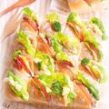 *ちぎりパンサンドイッチ* by mariaさん