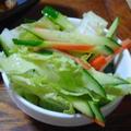 白菜ときゅうりの和風サラダ
