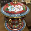 美しい七宝焼き鍋