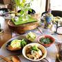 秋の料理教室 デザートはウズベキスタン色のクレープ
