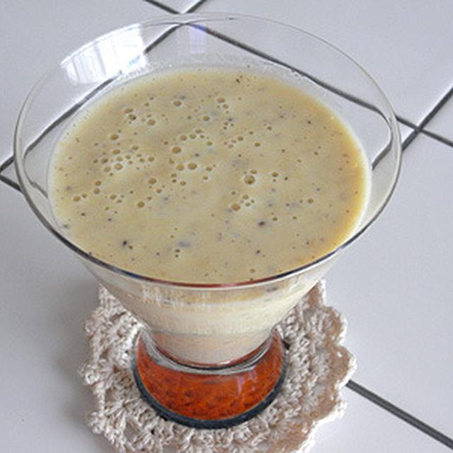 清見+キウイフルーツ+ヨーグルトのフレッシュジュース