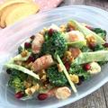 茎もおいしくブロッコリーとエビのデリ風サラダ