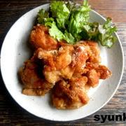 【簡単!】普通の鶏のからあげ(揚げ焼きでもサクサクに、かつはねない方法)