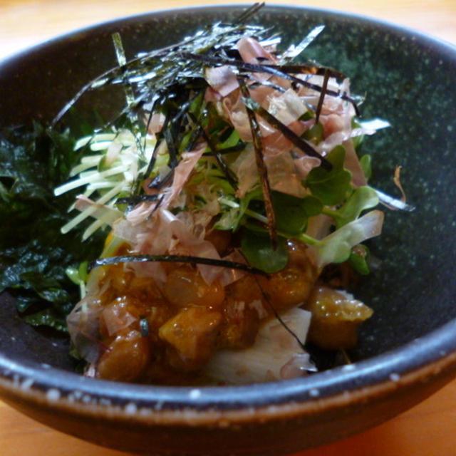 ★ 山芋納豆サラダ ★