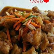 《レシピ有》南部どりもも肉で☆さっぱり&ボリューミー☆鶏ももの南蛮漬け、チアダンス、次女も竹馬。