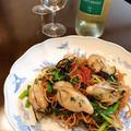 牡蠣のコンフィで冬の焼きそば「香港風炒麺」。 by イェジンさん