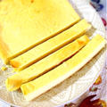 さつまいもとマスカルポーネの塩味チーズケーキ。 by Misuzuさん