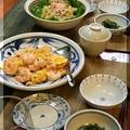 ◆プリプリエビのふんわり卵炒め♪~生姜たっぷりの桜エビ振りかけ♪