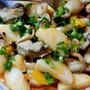 少量の牡蠣を山芋でボリュームアップ~☆☆☆