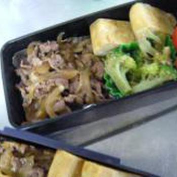 【お弁当】牛肉のしぐれ煮風弁当とお弁当について