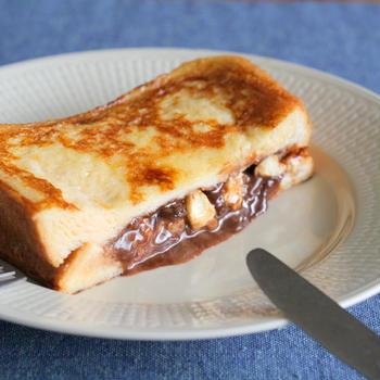 生チョコチーズinフレンチトースト