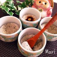 レンジ1分&材料③❤︎体に優しい黒ごま豆腐 / 窓ガラスの交換