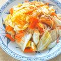 レンジで簡単!旨辛で暑さ対策〜アジアン風焼きビーフン。