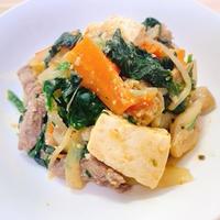 【糖質制限】ダイエットレシピ☆野菜たっぷり味噌煮込み肉豆腐