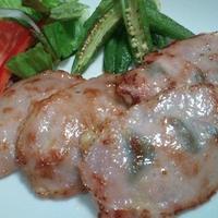ジュレで食べるバラ肉のサルティンボッカ風