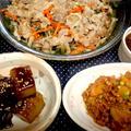 蒸し豚と野菜の和風おろしソース de 夕食 & そんなに食べて大丈夫?? by ☆s4☆さん