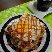 コンンビーフエッグトースト