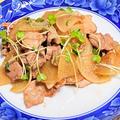【レシピ 豚肉と大根のしょうが焼き】仕事運、家庭運、根気と根性アップ!