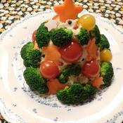 ツリーポテトサラダ