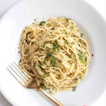 【簡単ランチに】大葉のペペロンチーノのレシピ