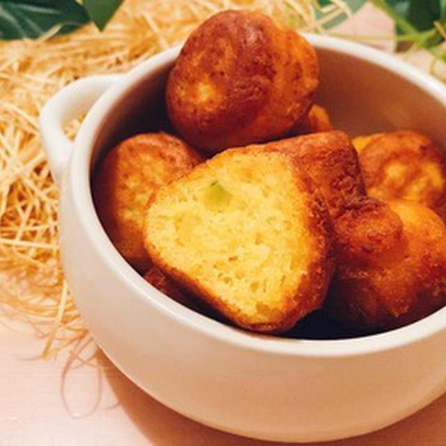 小麦粉&油不使用!豆腐で作るかぼちゃドーナツ【グルテンフリー】【美肌スイーツ】