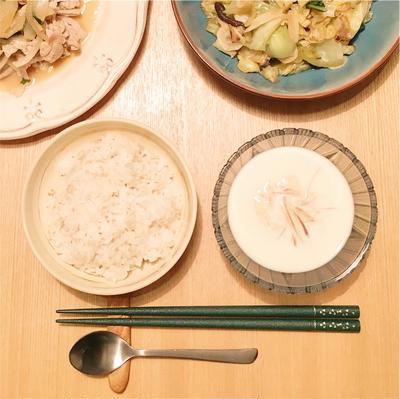 【ヘルシーレシピ】新食感! もち麦と豆乳のもちとろヴィシソワーズ