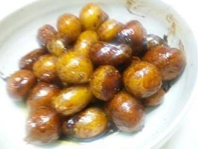 サクラ印「ちょい足しはちみつ」(モラタメ)~ちょい濃厚照りじゃが小芋煮(キッチン ラボ)