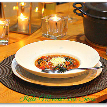 Kale Minestrone Soup