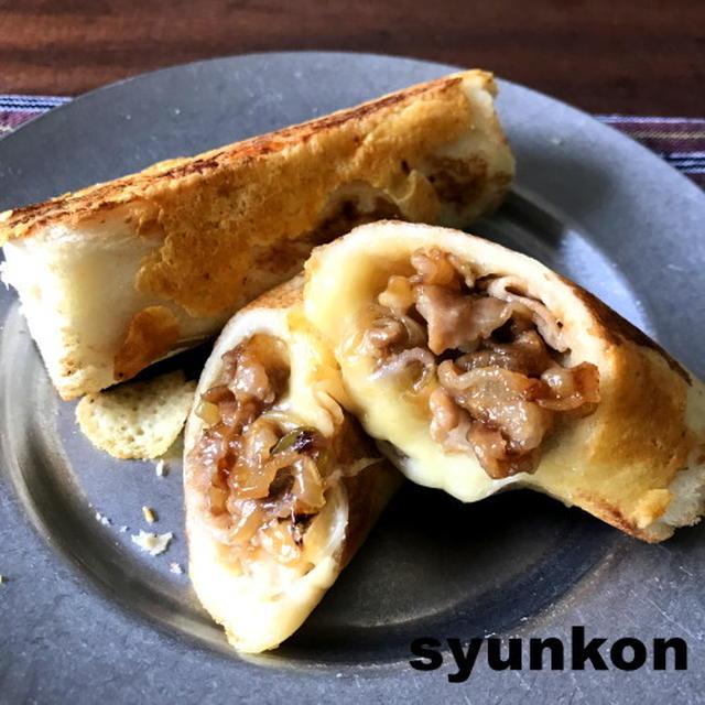 ※おすすめ【食パンアレンジ】プルコギベイク風甘辛豚バラチーズロール