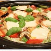 マルゲリータ風トマト鍋
