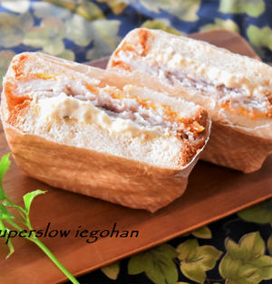 食パンでフィレオフィッシュ風。タルタルソースはレンジで簡単に。