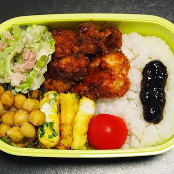 8月26日☆今日のお弁当は、チキンカツ弁当