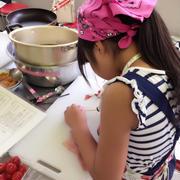 親子料理教室参加*Lumasaでかき氷ティータイム