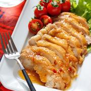 《テレビ紹介レシピ②》はちみつ味噌de鶏チャーシュー【#作り置き #お弁当 #鶏むね肉 #レンジ #下味不要 #主菜 #和風】