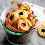 ♡ジャムdeキラキラ♡絞り出しクッキー♡【#簡単#クリスマス#お菓子#ラッピング】