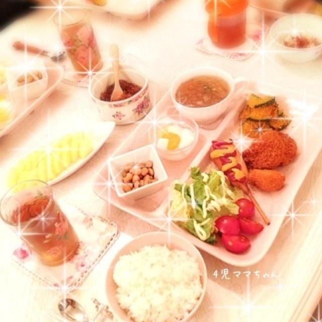 カボチャのパン粉炒め☆レシピ