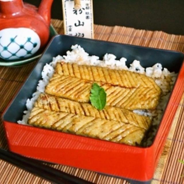 【精進うなぎ】蒲焼豆腐 土用の丑の日は アメリカでも蒲焼だもん!