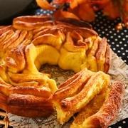 ストウブ ニダベイユ ソテーパンで♪かぼちゃのシナモンリングパン