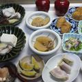豆腐とタラで蒸し物!