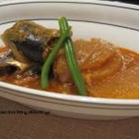 韓国風 秋刀魚煮