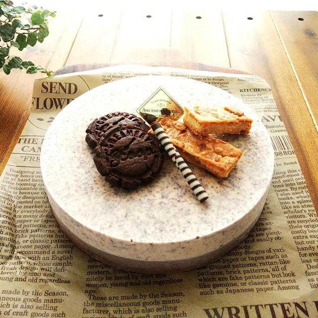クッキー&チョコレートのアイスケーキ