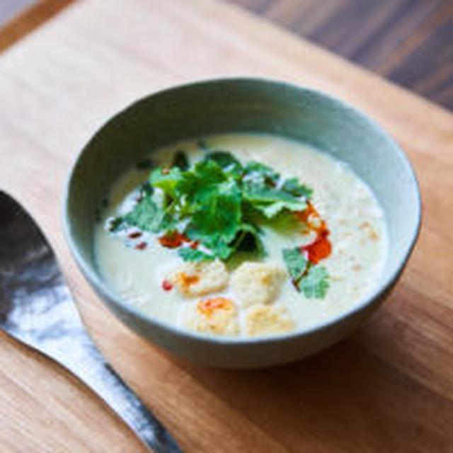 5分でできる、鹹豆漿(台湾風豆乳スープ)