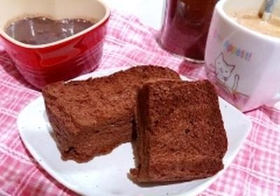 【糖質制限】ほろにがブラックココアのブランブレッド