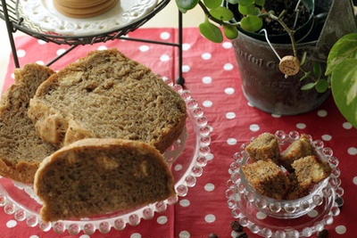 ★☆★コーヒー・シナモン・クッキー食パンと、紅芋おから食パンなど★☆★