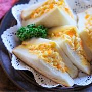 《レシピ動画》♡王道たまごサンド♡【#簡単レシピ#時短#節約#食パン】