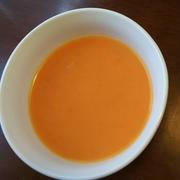 きのうのおつまみ  にんじんのしょうがスープ