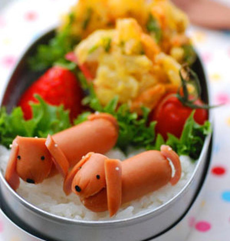 春の行楽弁当に♪「ウインナー」で作るかわいいトッピング