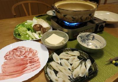 お鍋の季節になりました~塩ちゃんこ鍋~ ♪