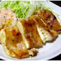 旨炒め考察「豆腐の肉巻きステーキ」